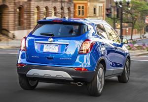 2017 Buick Encore rear