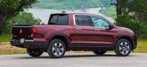 2017 Honda Ridgeline side rear