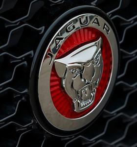 2017 Jaguar XE emblem