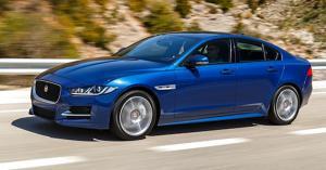 Motorway - 2017 Jaguar XE