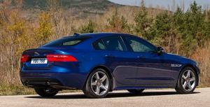 2017 Jaguar XE rear