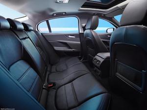 2017 Jaguar XE rear seating