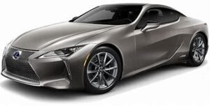 Gray 2021 Lexus LC 500 Coupe